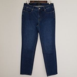 Talbots flawless slim ankle jeans